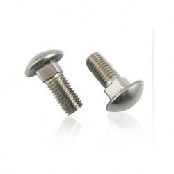Surub cap bombat torbant DIN 603-4,8- M 6,0 ZA/1 buc(min.comanda 100 buc)